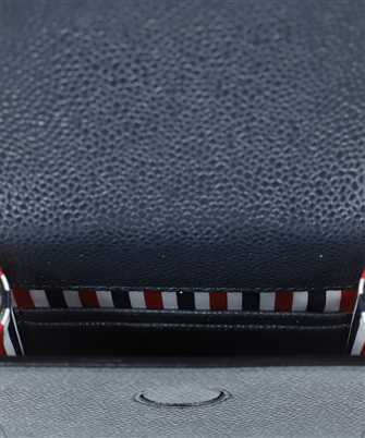 Thom Browne FLAP IN GRAIN LEATHER Phone cover