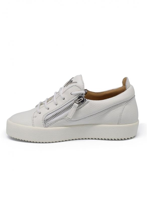 Luxury shoes for women - Giuseppe Zanotti Gail off-white sneakers