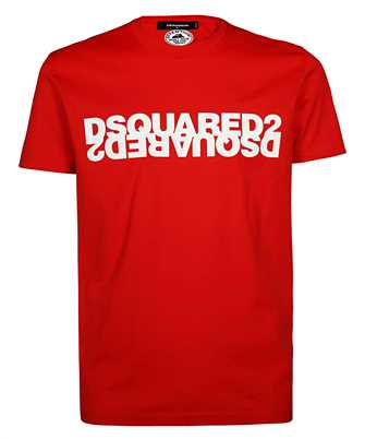 dsquared2 mirrored t-shirt