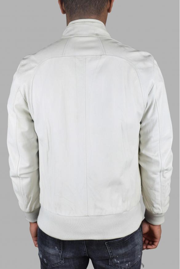 Luxury jacket for men - Dolce & Gabanna jacket in white leather