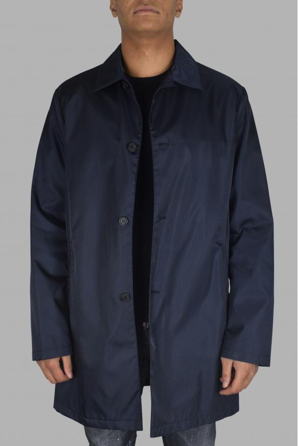 Men's luxury coat - Prada navy coat