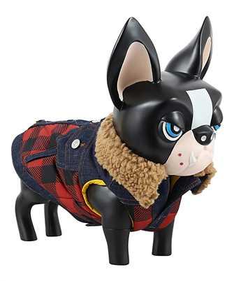 Dsquared2 D2 x POLDO CHECK COLLARED Dog vest