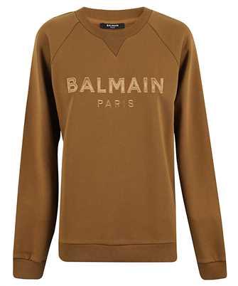 Balmain SATIN LOGO Sweatshirt