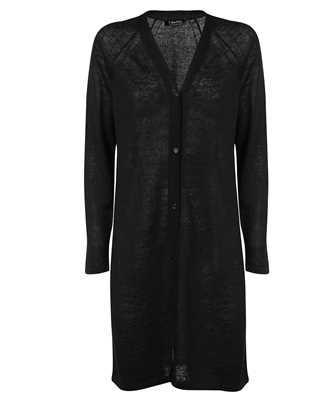 black linen dingey cardigan