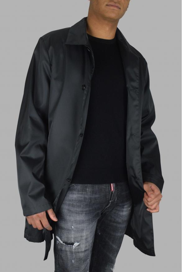 Men's luxury coat - Prada dark grey coat