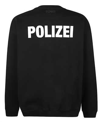 vetements polizei sweatshirt