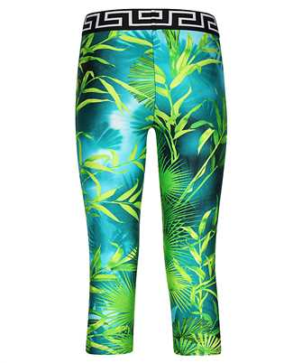 jungle print cropped leggings
