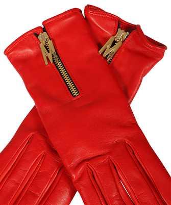 moschino zip gloves