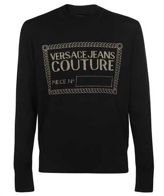 Versace Jeans Couture LOGO EMBROIDERED Knit