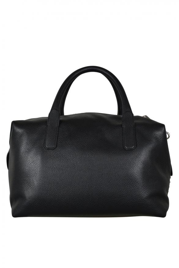 Luxury travel bag - Philipp Plein bag Santa Rosa model in black leather