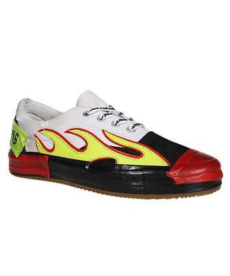 flame low-top sneakers