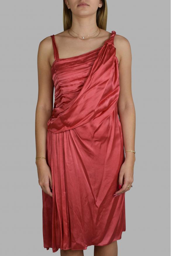 Luxury dress for women - Prada pink fluid dress