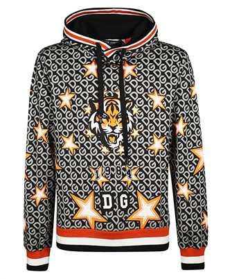 Dolce & Gabbana PATTERNED LOGO Hoodie