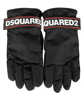 logo strap gloves