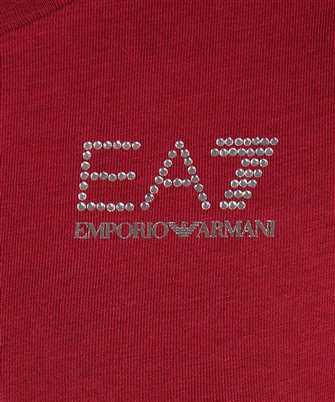 EA7 RHINESTONE LOGO T-shirt