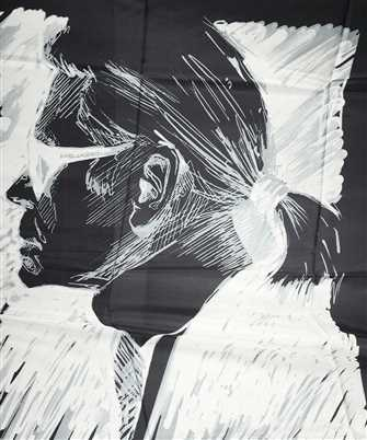 Karl Lagerfeld LEGEND Scarf