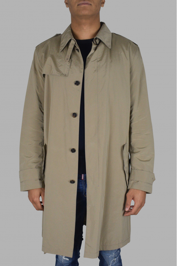 Mens's luxury coat - Prada beige trench coat