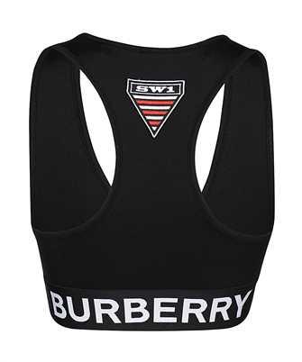 logo stretch jersey bra