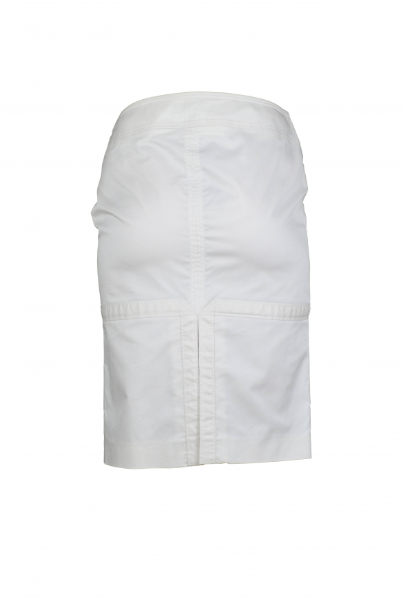 Luxury skirt for women - White Gucci skirt with slit at the back