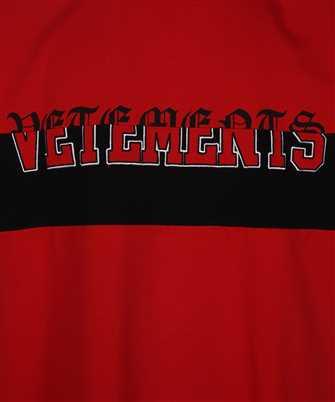 Vetements HORIZONTAL CUT-UP LOGO T-shirt