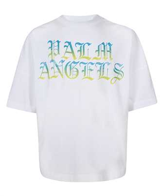 Palm Angels HUE GOTHIC LOGO OVER T-shirt