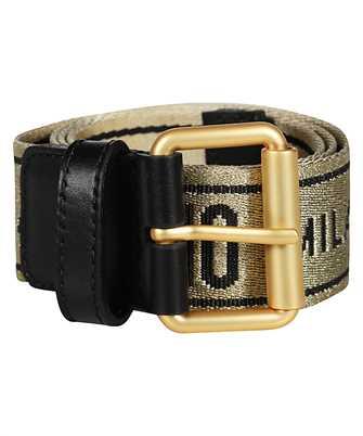 Moschino JACQUARD LOGO Belt