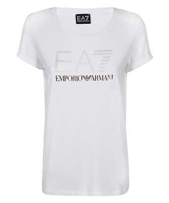 EA7 GOLDEN OVERSIZED LOGO T-shirt