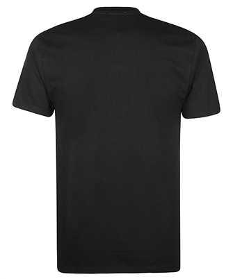logo-map crew-neck T-shirt