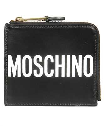 leather wallet with logo