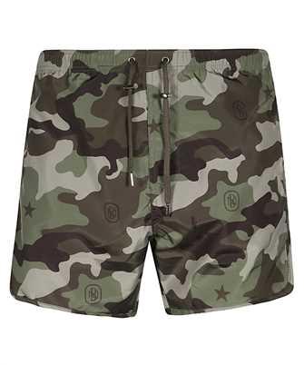 Neil Barrett STAR MONOGRAM Swim shorts