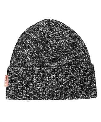 black & White Ribbed Beanie