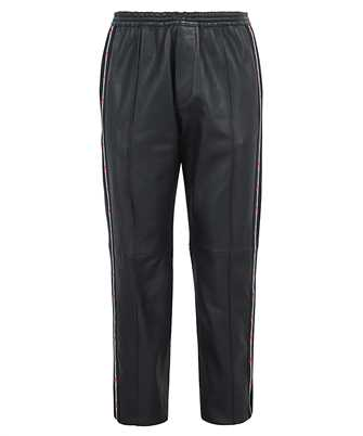 Dsquared2 LEATHER LEAF TAPE TRACK Trousers