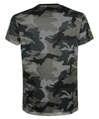 balmain rubber mesh camo t-shirt