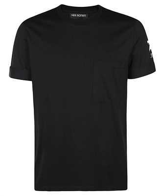 Neil Barrett HAND PAINTED SPORT STAR T-shirt