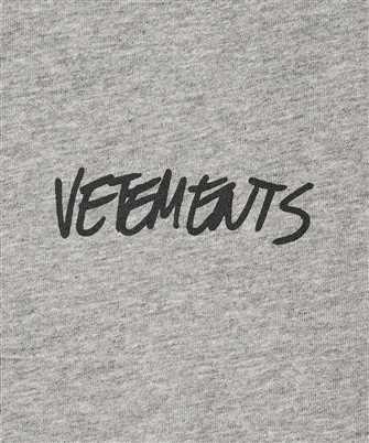 vetements jeans logo t-shirt