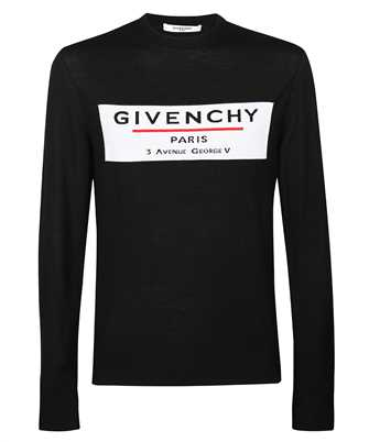 Givenchy JACQUARD MOTIF LOGO Knit