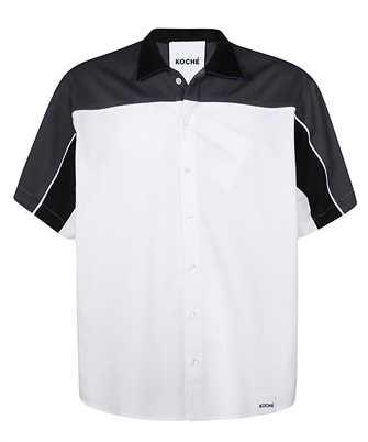 Koché COLOUR-BLOCK COTTON Shirt