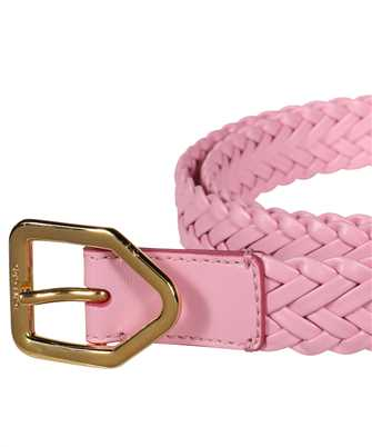 Tom Ford WOVEN LEATHER LOZENGE BUCKLE Belt