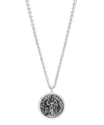 tom wood angel coin necklace