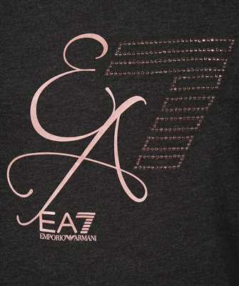 long-sleeve T-shirt with EA7 logo