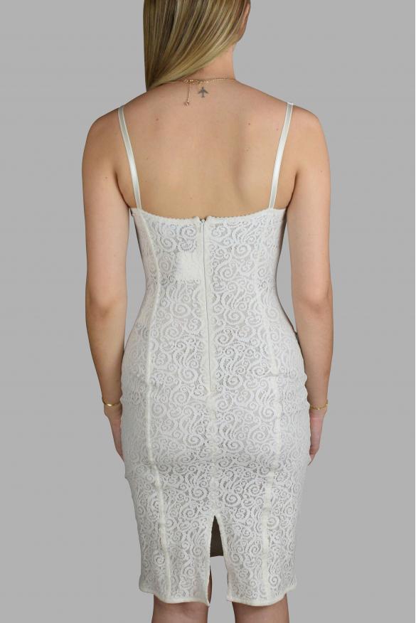 Luxury dress for women - Dolce & Gabbana white lace dress