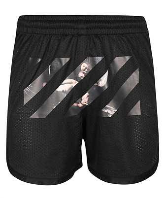 off-white caravaggio arrow shorts