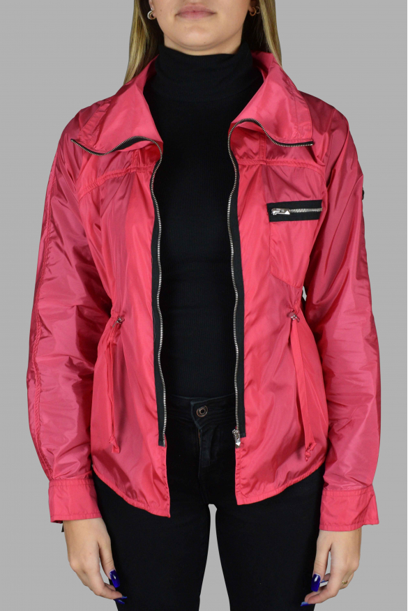 Women's luxury jacket - Pink Hogan jacket with black details