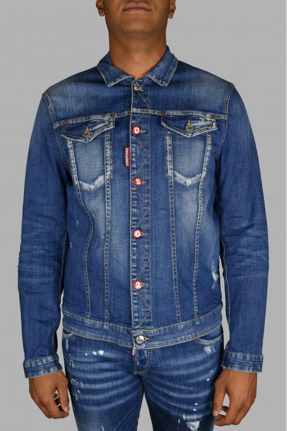 Men's luxury jacket - Dsquared2 denim jacket