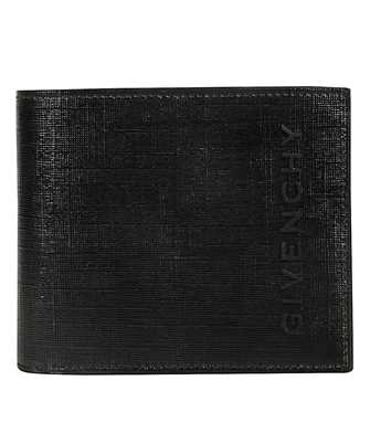 brushed bi-fold wallet