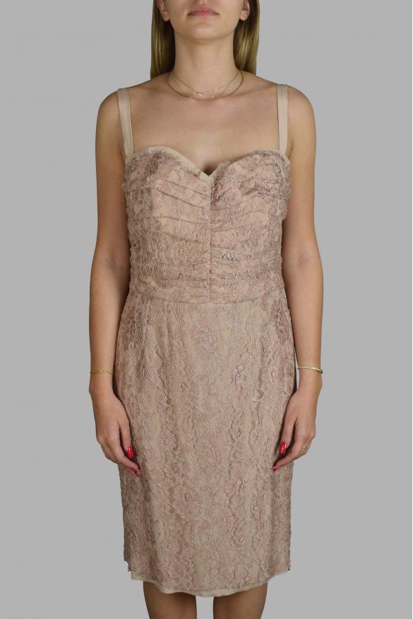 Luxury dress for women - Dolce & Gabbana pink strappy dress