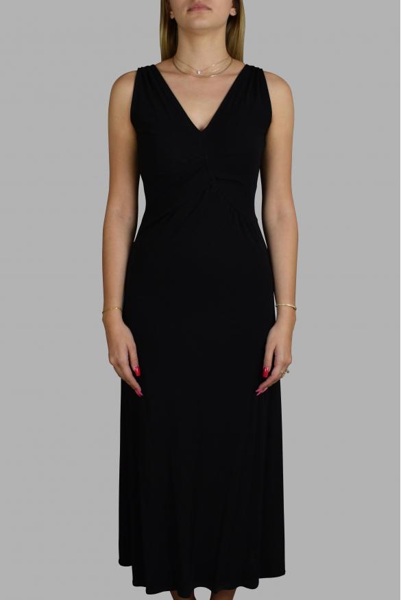 Luxury dress for women - Prada black long dress