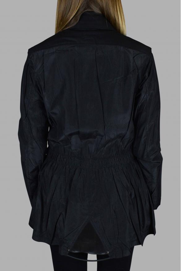 Women's luxury jacket - Prada black jacket with small collar