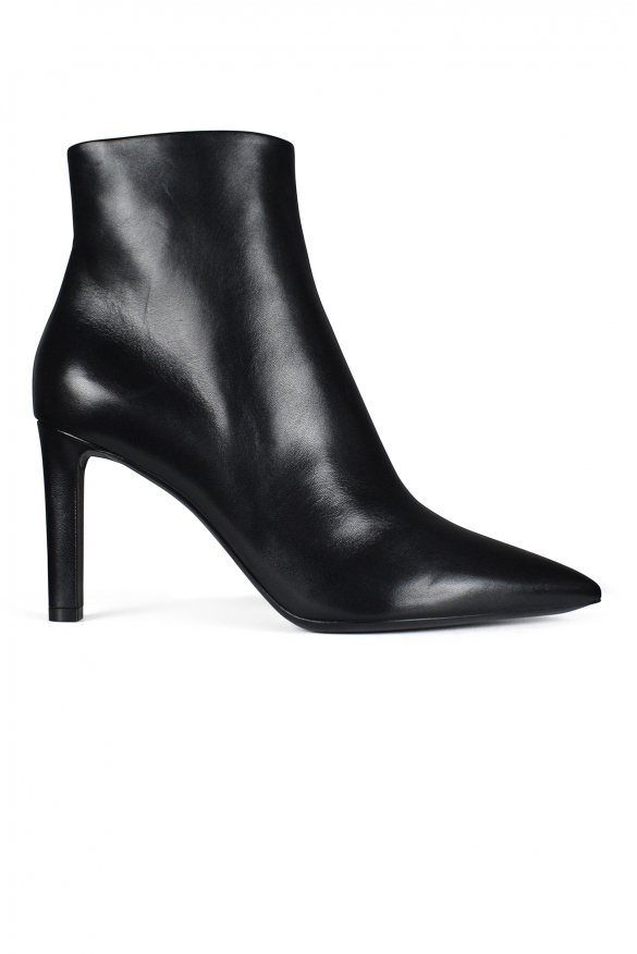 Women ́s shoes - Saint Laurent Grace ankle boots in smooth black leather