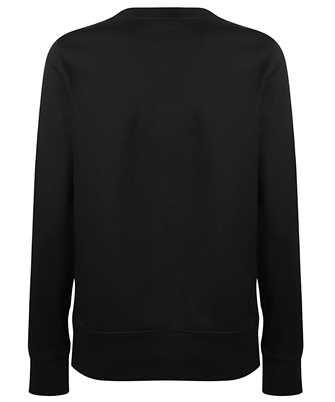 logo print cotton sweatshirt